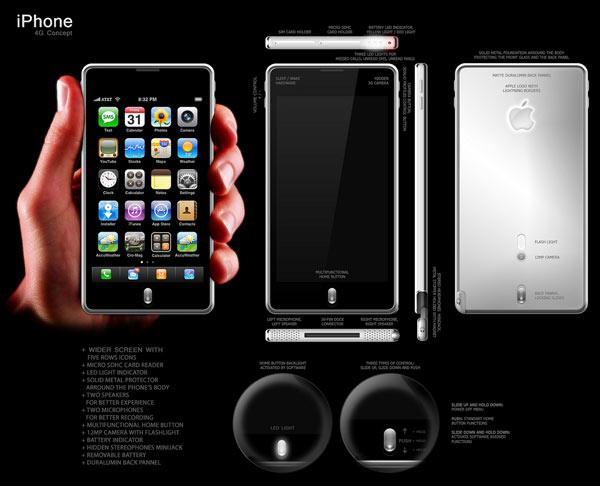 I concept di iPhone 4G – Episodio 8