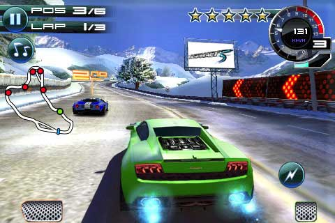 Asphalt 5 per iPhone 4