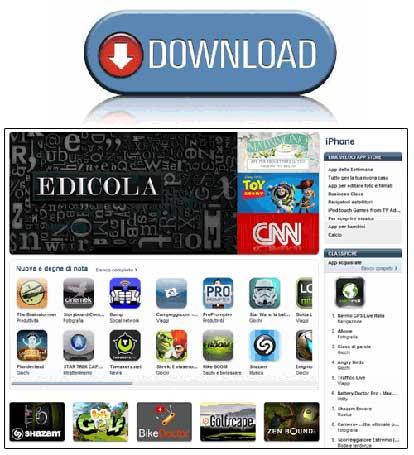 Download applicazioni iphone 4