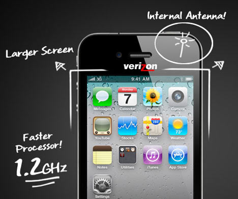 iPhone 4: rumors sul possibile futuro device by Verizon