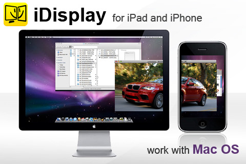 iDisplay trasforma il tuo iPhone in un monitor per PC e Mac