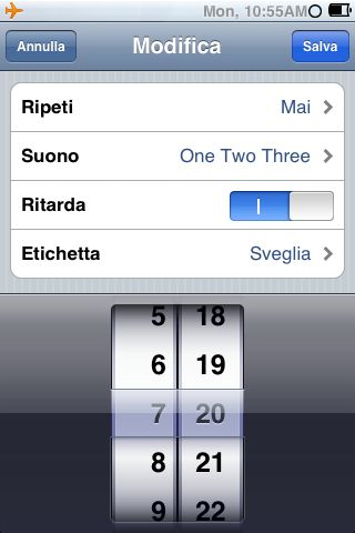 Bug sveglia iPhone iOS 4.1 presente anche in Italia