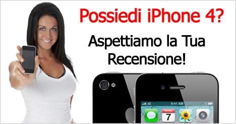 iPhone 4: le recensioni degli utenti
