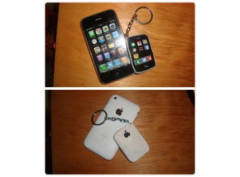 Portachiavi iPhone: un regalo originale