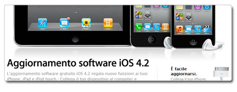iOS 4.2 disponibile per il download!