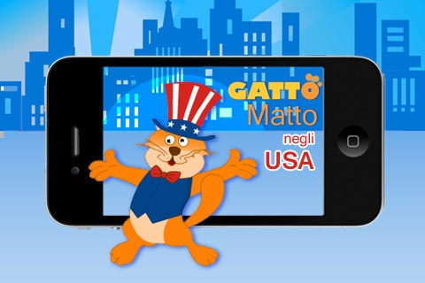 Gatto Matto USA iphone