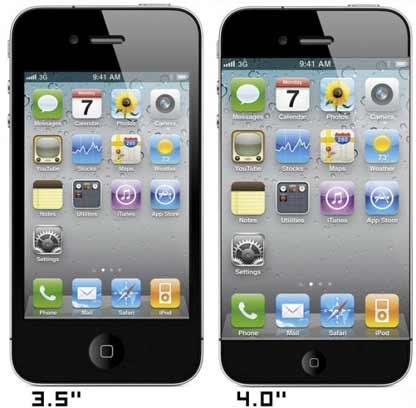 9to5mac: ecco iPhone 5 con display da 4 pollici (mockup)