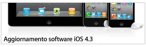 Apple rilascia iOS 4.3