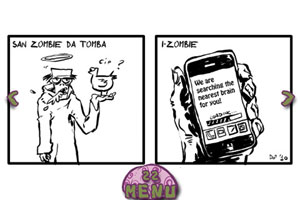 Fumetti su iPhone: Like Zombies