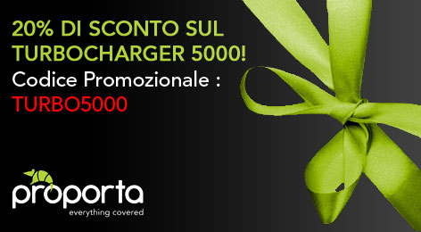 Proporta e Sconti: Turbocharger 5000