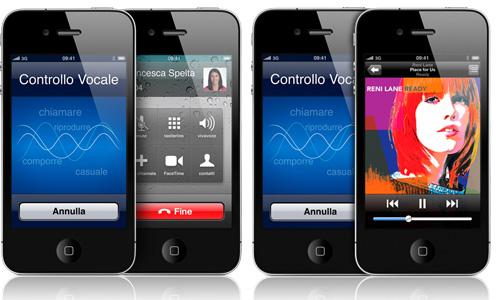 controllo vocale iphone