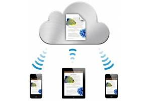 iPhone tutti servizi di cloud computing