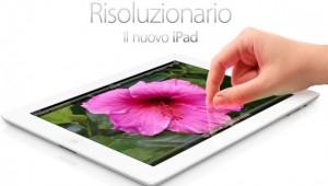iPad 3 tutto sullo schermo