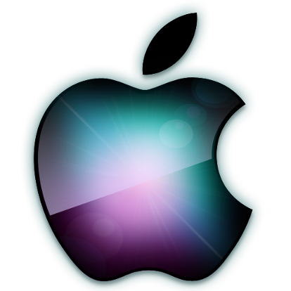 Apple Logo Luminoso
