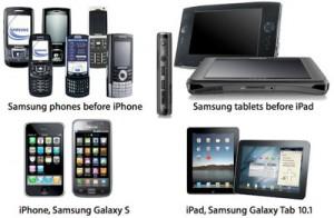 Samsung accusa Apple di aver copiato Sony