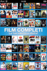 Film Gratis su iPhone arriva Film Completi su iPhone