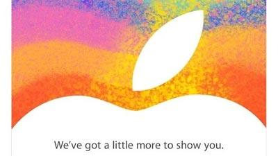 Partiti inviti Apple per il 23 ottobre