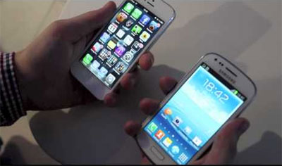 Confronto tra iPhone 5 e Samsung Galaxy S3 Mini