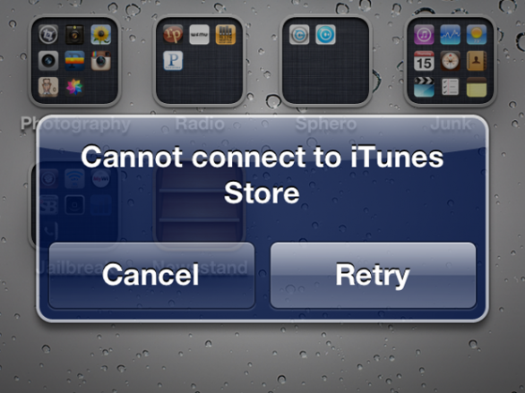 Problemi di download su Apple Store