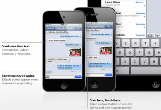 Bug di iMessage risolto