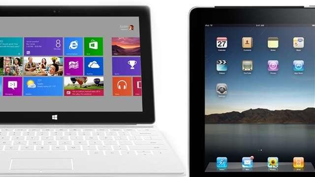 iPad vs Microsoft Surface: chi vince?