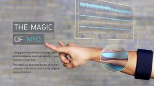 Controllare iPhone con i muscoli del braccio