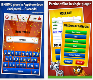 Nomi Cose e Città: disponibile su iPhone