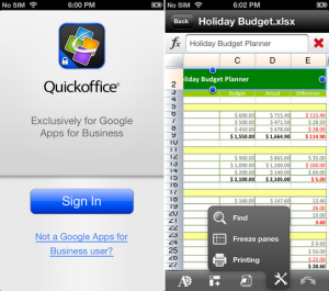 Quick Office Pro per iPhone gratis