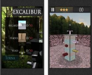 Excalibur arriva su iPhone