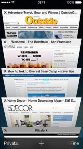 Apple iOS 7: come chiudere tutte le schede del browser web Safari