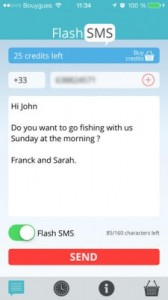 Flash SMS Class 0: come inviare con l'iPhone messaggi immediati