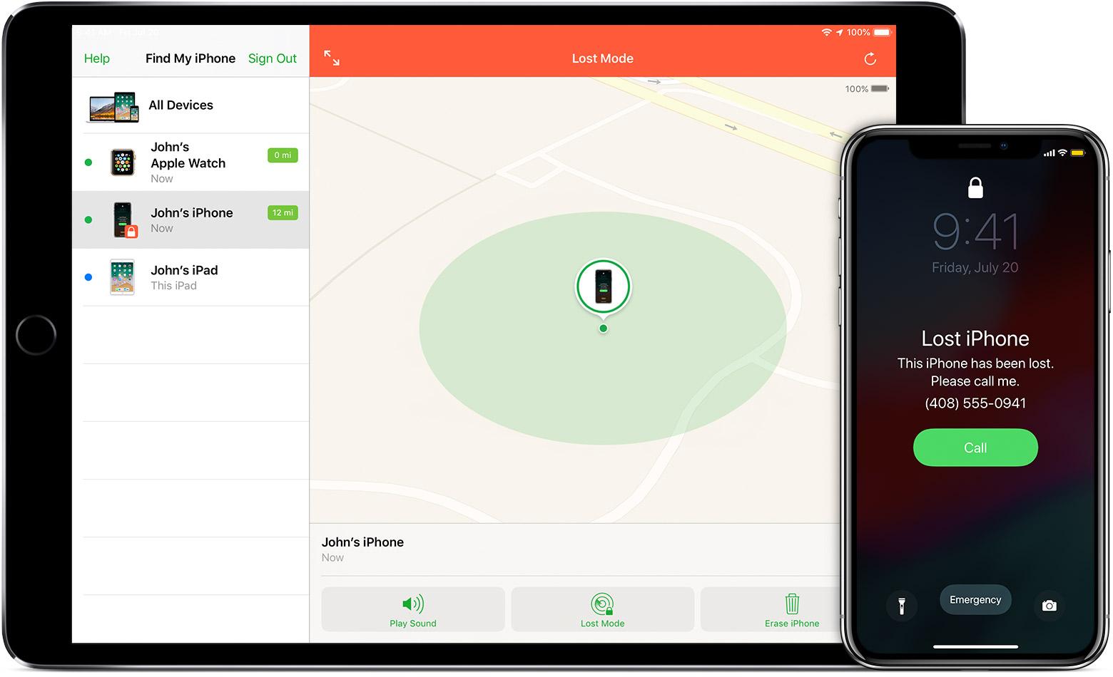 geolocalizzare il proprio Iphone